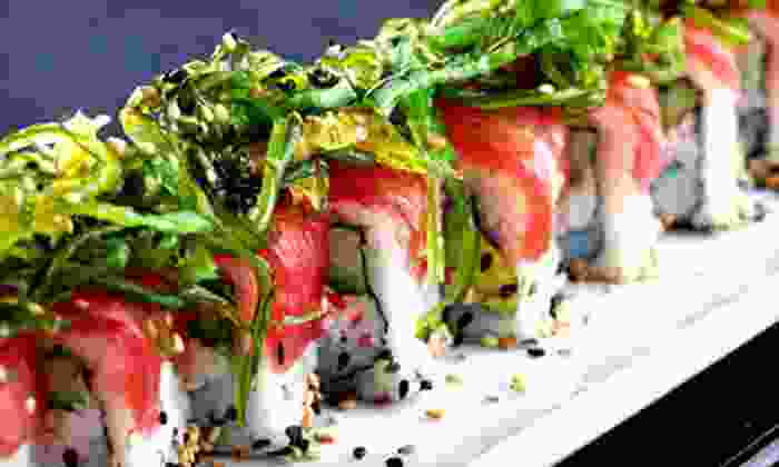 Ikura Sushi Lounge - Coral Gables Section: Japanese Cuisine for Two or Four or More at Ikura Sushi Lounge (Half Off)