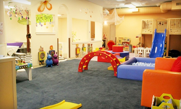 HappyNest Play Centers - HappyNest Play Centers: Two All-Day Indoor-Playground Passes for One or Two or a Party Package at HappyNest Play Centers (Up to 51% Off).