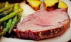Ferme Rouge - District de Masson-Angers: Three-Course Dinner with Wine and a Cabaret Show for Two or Four at Ferme Rouge (Up to 52% Off)