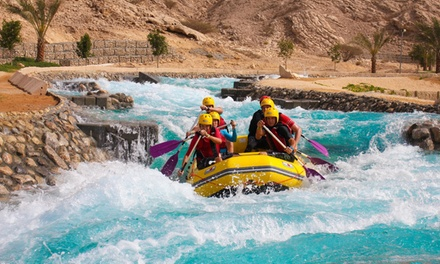 Al Ain: 1 Night for Four with Adventure Park Tickets at Green Mubazzarah Chalets Managed by Danat Hotels & Resorts