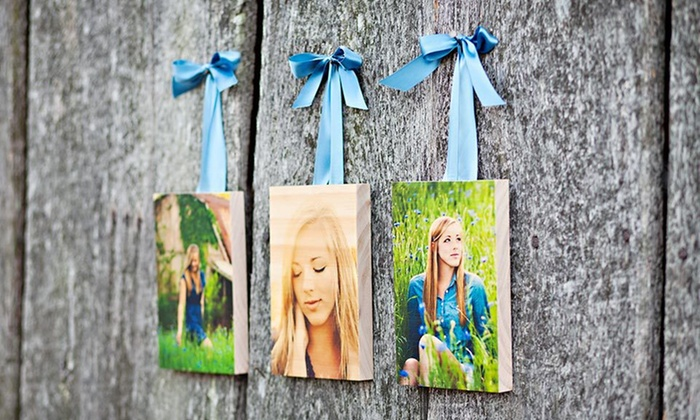 Custom Wooden Photo Blocks or Boards: $39 for Photo Blocks and Boards from PhotoBarn (Up to $100 List Price). Three Options Available. Free Shipping.