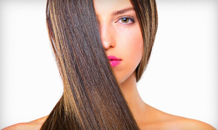 AnthonyWayne Hair Art - Neartown/ Montrose: Haircut with Conditioning, Gloss, or Highlights, or a Keratin Treatment at AnthonyWayne Hair Art (Up to 61% Off)