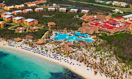 groupon daily deal - Grand Palladium Riviera Resort Vacation w/ Airfare. Includes Taxes & Fees. Price Per Person Based on Double Occupancy.