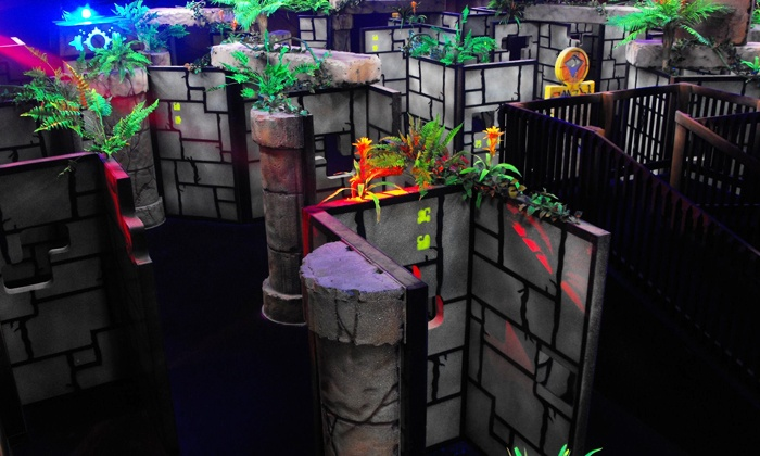 Xtreme Adventures Family Fun Center - Lutz: $29.99 for a Laser Tag Package for 4 with Pizza and Soda at Xtreme Adventures Family Fun Center ($51.75 Value)