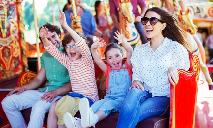 Unlimited Rides for Family of Four, Six, or Eight on July 30 at Oaks Park (Up to 45% Off)