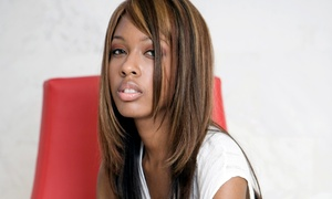 A Better Image Beauty and Barber: Haircut, Children's Beaded Braids, or Sew-In Extensions at A Better Image Beauty and Barber (Up to 56% Off)