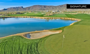 Golf Club at Dove Mountain: Golf for Two or Four with Cart and Range Balls at Golf Club at Dove Mountain at The Ritz-Carlton (Up to 50% Off)