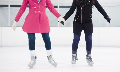image for <strong>Ice <strong>Skating</strong></strong> with Skate Rentals for Two or Four at Staten Island <strong>Skating</strong> Pavilion (Up to 55% Off)