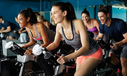 image for Five Spin Classes or One Month of Unlimited Spin Classes at Revolution Cycle Republic (Up to 61% Off)