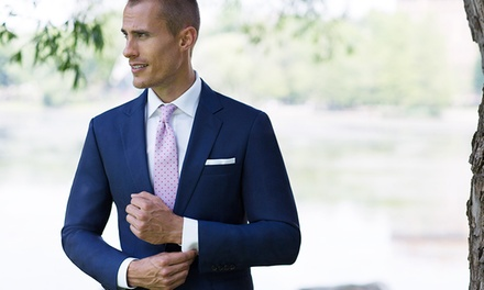 Custom Suits, Shirts, Ties, and Apparel from Alton Lane (Up to 51% Off). Three Options Available.