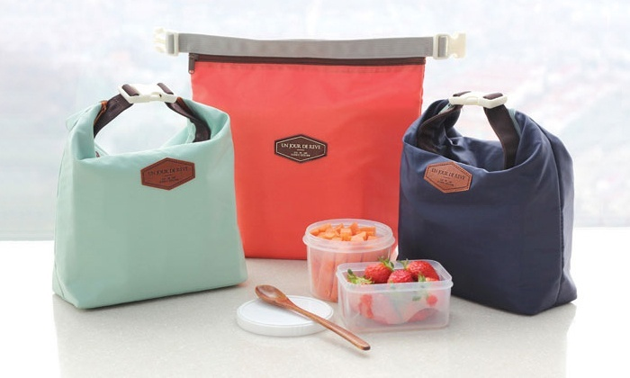 thermal lunch bags from groupon goods. Black Bedroom Furniture Sets. Home Design Ideas