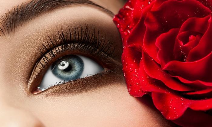 Face to Face Beauty Studio - Face to Face Beauty Studio: Full Set of Natural or Flirty Eyelash Extensions at Face to Face Beauty Studio (Up to 62% Off)