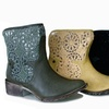 Groove Daisy Women's Western Ankle Boot