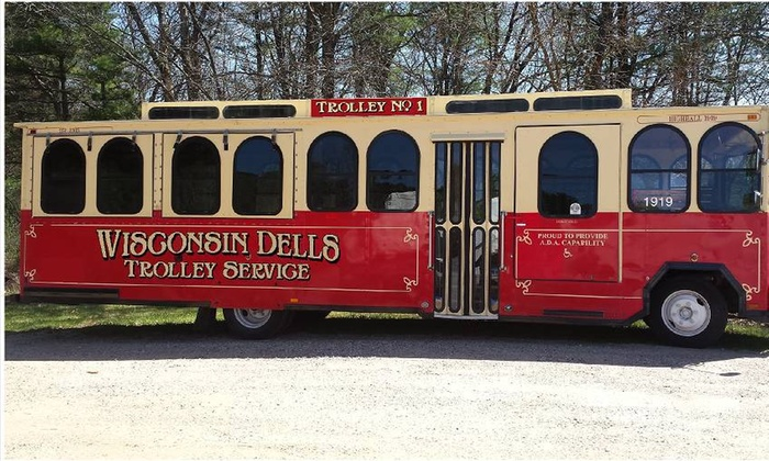 Wisconsin Dells TROLLEY - Bobbers Island Grill : Up to 55% Off Wisconsin Dells Wine and Cheese Trolley Tour at Wisconsin Dells TROLLEY