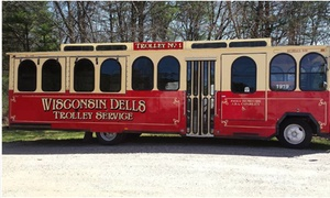 Wisconsin Dells TROLLEY: Up to 55% Off Wisconsin Dells Wine and Cheese Trolley Tour at Wisconsin Dells TROLLEY