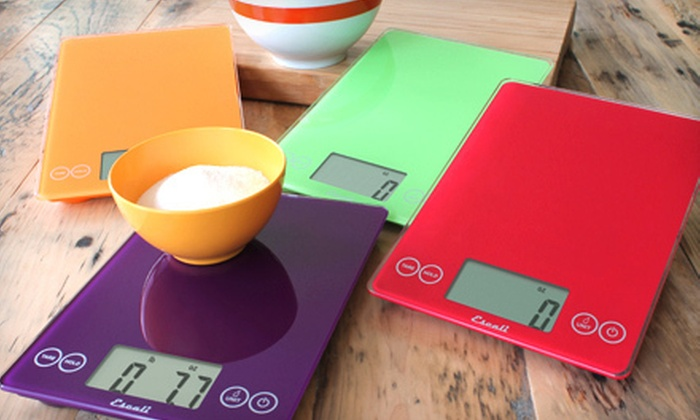 Escali Arti Digital Glass Kitchen Scale: $24 for an Escali Arti Digital Glass Kitchen Scale ($49.95 Value). 12 Colors Available.