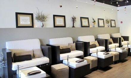 Mani-Pedi at Mist Nail Boutique & Day Spa (Up to 52% Off). Two Options Available.