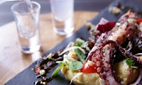Two- or Three-Course Greek Lunch with Wine for One or Two at The Life Goddess (Up to 72% Off)
