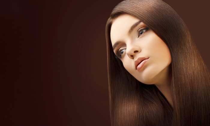 Lina Michelles Beauty Room - Neartown/ Montrose: Brazilian Keratin Treatment for Short Hair, with Haircut, or with Hair Coloring (Up to 75% Off)