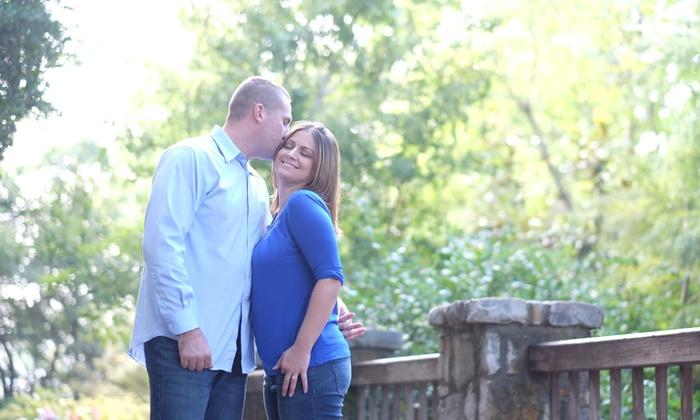 Blue Scope Photography - Fairmount: 30-Minute Engagement Photo Shoot from Blue Scope Photography (70% Off)