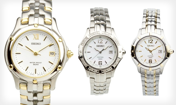 Seiko Women's Watches: Seiko Women's Watches (Up to 79% Off). 6 Styles Available.