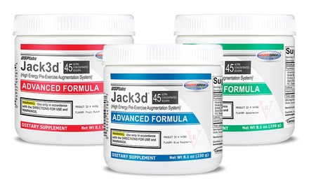 45-Servings USP Labs Jack3d Advanced Pre-Workout Supplement
