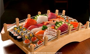 Chutoro Restaurantes Ltda. ME: Chutoro Sushi – Parque Industrial: buffet japonês para 1, 2 ou 4 pessoas