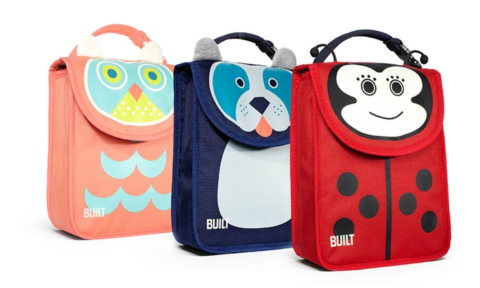 BUILT Animal Lunch Bags: BUILT Animal Lunch Bags