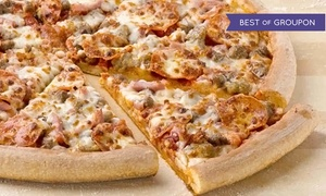 Papa John's: One, Two, or Three Large Pizzas with Up to Five Toppings and Sides at Papa John's (Up to 71% Off)