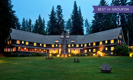 1- or 2-Night Stay for Two at Lake Quinault Lodge in Quinault, WA. Combine Up to 10 Nights.