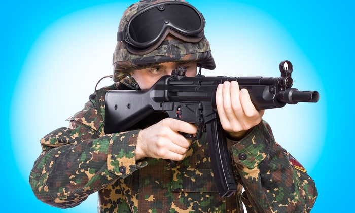So Go Airsoft - Multiple Locations: 90-Minute Airsoft Party for Up to 40 at So Go Airsoft (Up to $90 Value)