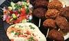Half Off Mediterranean Cuisine at Falafelicious
