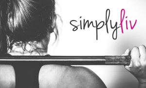 SimplyLiv Studio: Four Weeks of Fitness Classes at SimplyLiv Studio