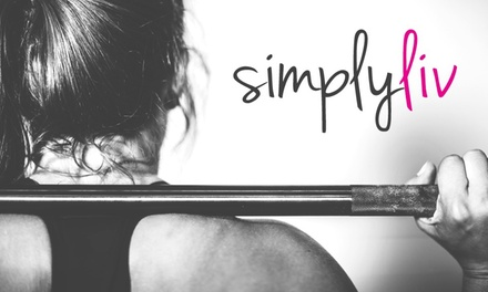 Four Weeks of Fitness Classes at SimplyLiv Studio