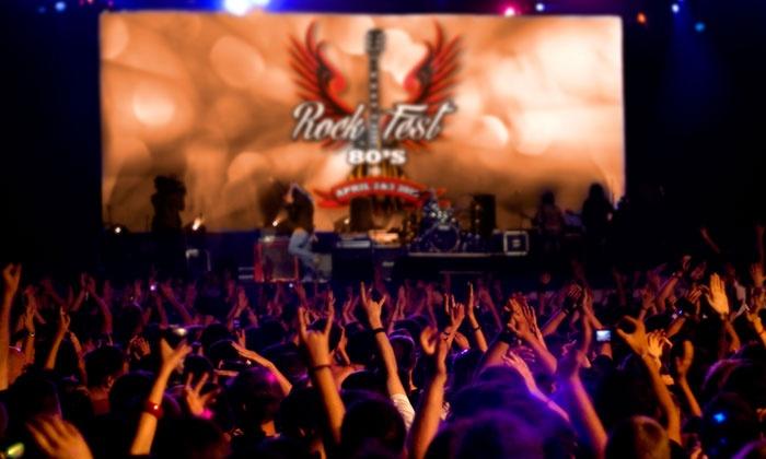 Rockfest 80's - Markham Park: Rockfest 80's: Bret Michaels, Paul Rodgers, & More on April 2 and 3