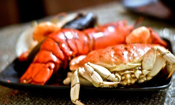 Knick Knacks - Brooklyn: Seafood Dinner Including Lobster for Pickup or Delivery from Knick Knacks (Up to 51% Off). Four Options Available.