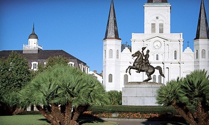 Southern Style Tours - Central Business District: Minibus City Tour of New Orleans for Two or Four from Southern Style Tours (Up to 58% Off). Two Options Available.