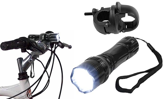 Whetstone 14-LED Flashlight with Bicycle Clip