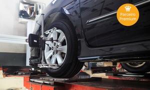 Focus Centro Automotivo: Focus – Floresta: geometria, balanceamento, regulagem de faróis e revisão de 3 itens (opção com troca de óleo)