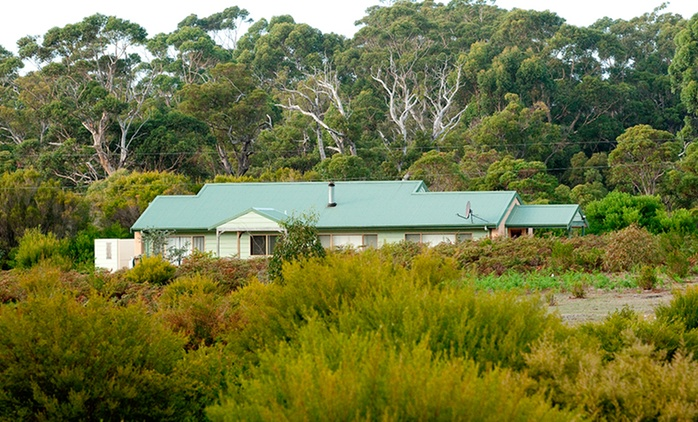 Margaret River: From $299 for a Chalet Escape for Two People with Wine and a Breakfast Hamper at Boranup Forest Retreat