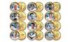 Baseball Legends 24K-Gold-Plated State Quarter (12-Coin Set): Baseball Legends 24K-Gold-Plated State Quarter (12-Coin Set)
