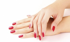 Nirvana Beauty & Tanning: Gel Nail Extensions with Shellac at Nirvana Beauty & Tanning