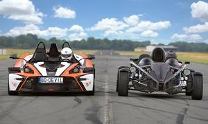 DEVIL CARS: Przejazd wybranym autem wyścigowym (od 89,99 zł) lub lot wiatrakowcem od 289,99 zł w Devil Cars - 9 lokalizacji