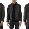 Urban Republic Men's Soft-Shell Quilted-Front Jacket (Size L)