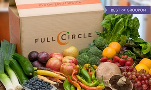 Full Circle:  50% Off Organic Produce for Delivery from Full Circle