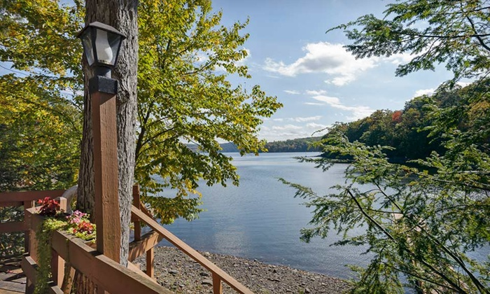null - Harrisburg / Lancaster: All-Inclusive Couples Stay at Cove Haven Resort in the Pocono Mountains, PA. Dates into September Available.