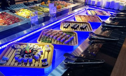 Bild für Internationales All-you-can-eat-Buffet mit Live Cooking im Manga Style im Sanji Grill-Buffet (23% sparen)