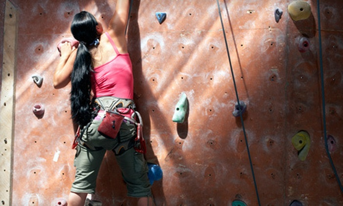 Vertical Dreams - Multiple Locations: Introductory Rock-Climbing Package for One or Two or 10 Visits at Vertical Dreams (Up to 73% Off)