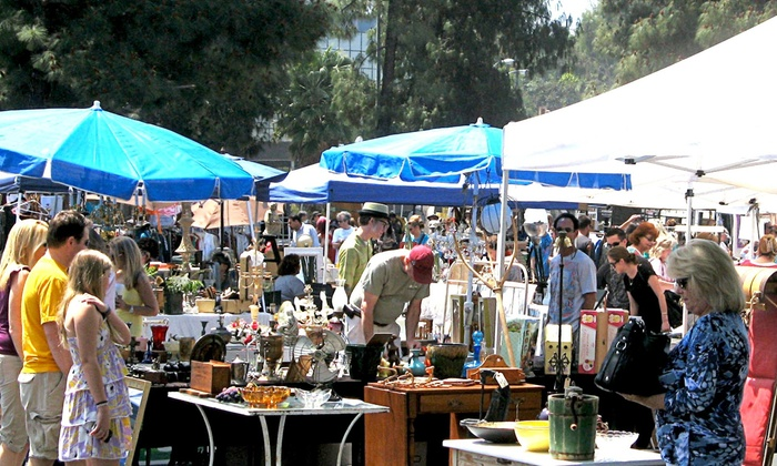 Topanga Vintage Market - Warner Center: Annual Flea Market Shopping Pass for One or Two (Up to 53% Off)