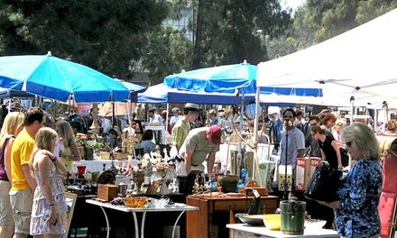 Annual Flea Market Shopping Pass for One or Two (Up to 53%Off)